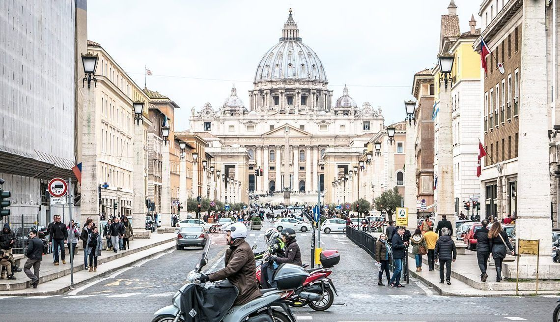 Getting to the Vatican