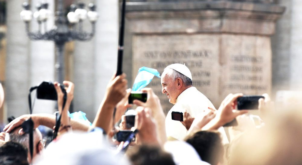 See Pope Francis in person