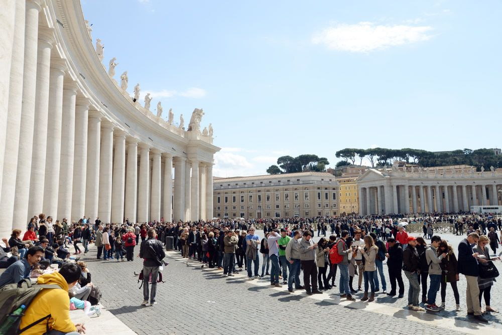reservations in advance in the Vatican